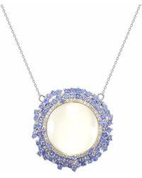 Ri Noor - Pendant With Diamonds - Lyst