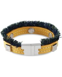 Tissuville - Flik Mini Bracelet Custard Silver - Lyst
