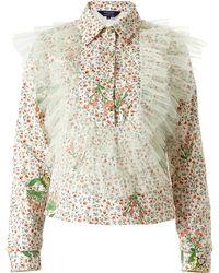 Supersweet x Moumi - Never-wake-up Berry Kokomo Shirt In White - Lyst
