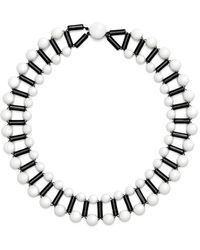 Scenery Label - Ball Bead Collar - Lyst