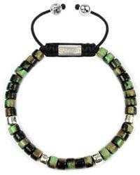 Clariste Jewelry - Men's Ceramic Bead Bracelet Camouflage - Lyst