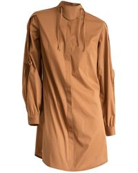 CONSTANTINE/RENAKOSSY - Ochre Petal Sleeve Shirt - Lyst