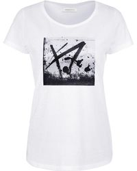 URBAN GILT - Buxton White T-shirt - Lyst