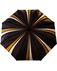 Raindance Umbrellas - Cityslick Navy & Gold - Lyst