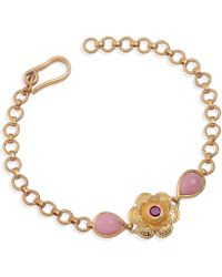 Emma Chapman Jewels | Gypsy Rose Ruby & Pink Tourmaline Bracelet | Lyst