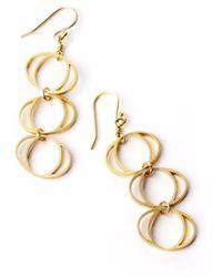 Nakibirango-London - Daphne Gold Earrings - Lyst