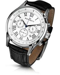 Kennett Watches | Savro Silver White Black | Lyst