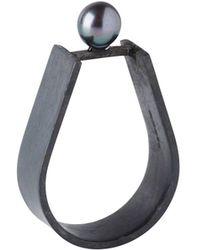 Dorota Todd - Black Ring - Lyst