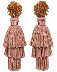 Wafa By Wafa - Pink Talea Earrings - Lyst