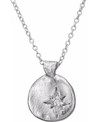 Chupi - Your North Star Necklace In Silver - Lyst