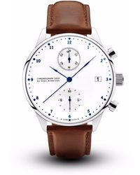 About Vintage | 1815 Chronograph Brown Strap | Lyst