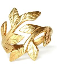 Chupi - Wrap Your Laurels Around Me Ring In Gold - Lyst