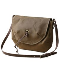 dorayaky - June Brown Waxed Canvas Bag - Lyst