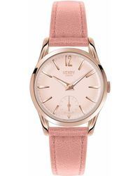 Henry London - Ladies 30mm Shoreditch Leather Watch - Lyst