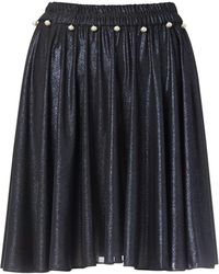 Supersweet x Moumi - Space Navy Bop Skirt - Lyst