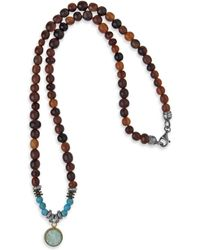Platadepalo - Classic Necklace Buffalo Horn & Turquoise - Lyst