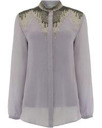 Raishma - Mauve Eva Shirt - Lyst