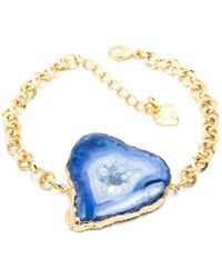 Tiana Jewel - Savannah Blue Bracelet Zahara Collection - Lyst