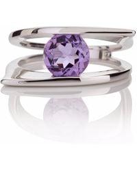 Manja - Romance Amethyst Ring - Lyst