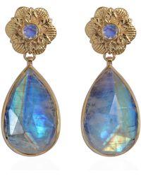 Emma Chapman Jewels | Adila Moonstone Earrings | Lyst