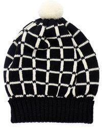 Margot & Me - Knit Hat Lucy In Black - Lyst