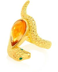 Alexandra Alberta | Arizona Citrine Ring | Lyst