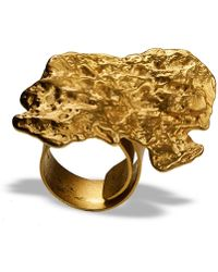 Linnie Mclarty - Prospector's Ring Gold - Lyst