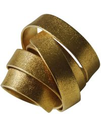 Linnie Mclarty - Aurum Gold Ring - Lyst