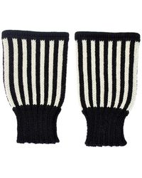 Margot & Me - Short Fingerless Mittens Billy - Lyst
