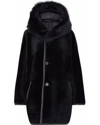 Gushlow and Cole - Black Parka Coat - Lyst
