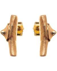 Nina Kastens Jewelry - Kathy Earrings Gold - Lyst