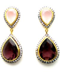 Meghna Jewels - Parineta Earrings - Lyst