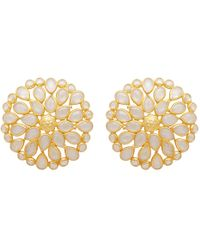 Carousel Jewels - Large Sliced Crystal Studs - Lyst