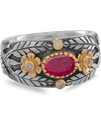 Emma Chapman Jewels - Esmeralda Ruby Diamond Ring - Lyst