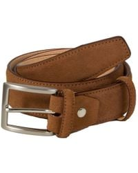 40 Colori - Brown Trento Leather Belt - Lyst