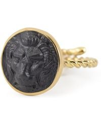 Vintouch Italy | Lion Cameo Ring | Lyst