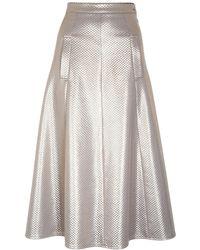 Jiri Kalfar - Metallic Skirt - Lyst