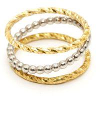 GFG Jewellery by Nilufer - Dafna Z Ring - Lyst