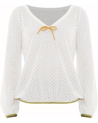 Victor Xenia London - Valentina Top White - Lyst
