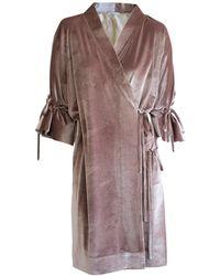 CONSTANTINE/RENAKOSSY - Velvet Kimono - Lyst