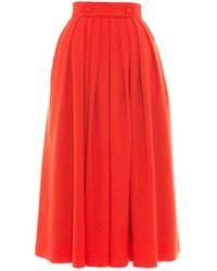 Victor Xenia London - Olia Skirt Red - Lyst