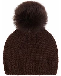 Gushlow and Cole - Peat Hand Knit Beanie - Lyst