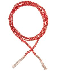 GFG Jewellery by Nilufer - Linda Bracelet/necklace Red - Lyst