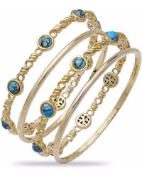 LMJ - Sunshine & Sea Stackable Bangles - Lyst