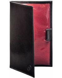 Maxwell Scott Bags - Sestino Luxury Leather Golf Card Holder Black - Lyst