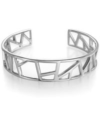 Ona Chan Jewelry - Lattice Cuff Small - Lyst