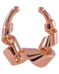 MARIE JUNE Jewelry - Loopty Loop Rose Gold Septum Ring - Lyst