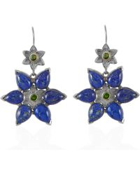 Emma Chapman Jewels - Bellatrix Lapis Lazuli Earrings - Lyst