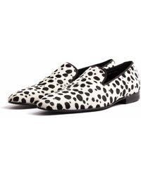 Donhall & Bell - Ascot Dalmatian Slipper - Lyst