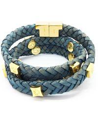 Tissuville - Brio Bracelet Jargon Jade Gold - Lyst